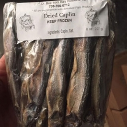 Dried Caplin