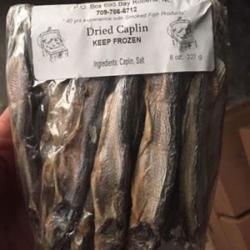 Dried Caplin